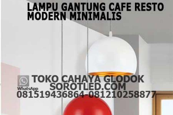 lampu gantung cafe