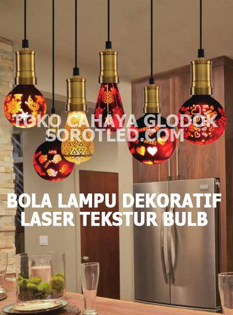 Bohlam Lampu LED Dekoratif Aneka Model