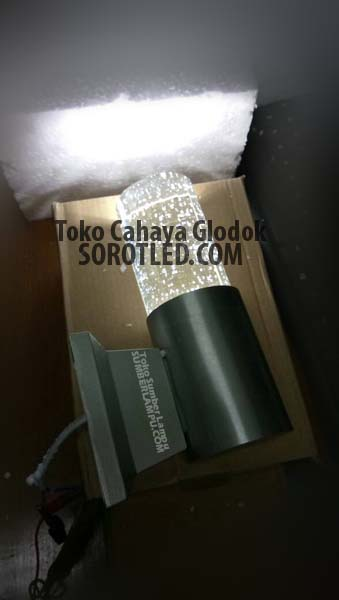 Lampu Dinding LED 3watt Warmwhite Model Modern