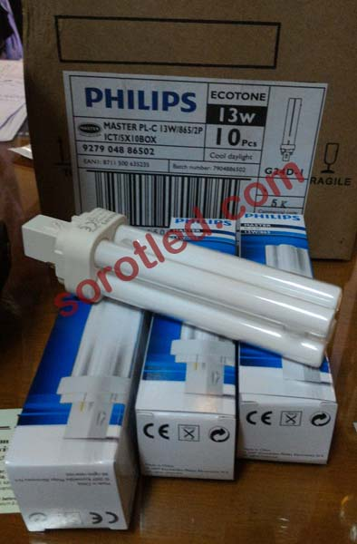 Lampu Philips Master PL-C 13 watt 2-Pin