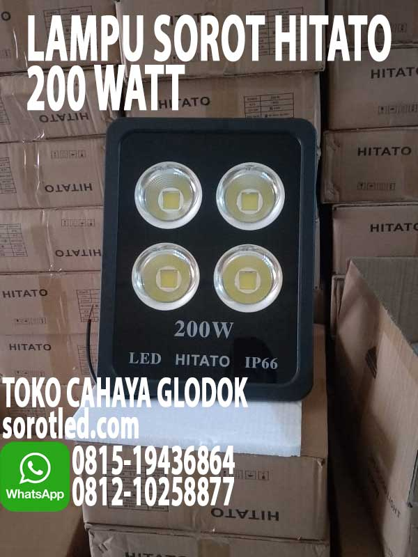 lampu floodlight led 200w