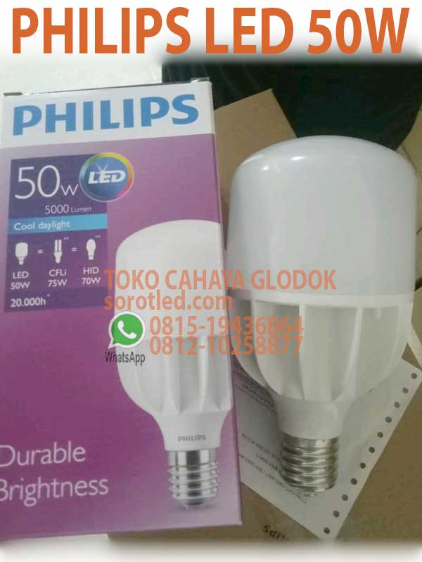 Extremement Lampu Philips LED 50w E40 TForce Core   sorotled.com EU-28