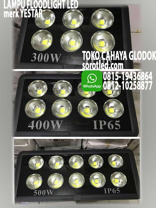 lampu sorot floodlight yestar