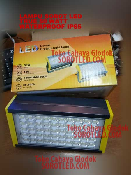 Lampu Sorot LED Waterproof IP67 50 watt
