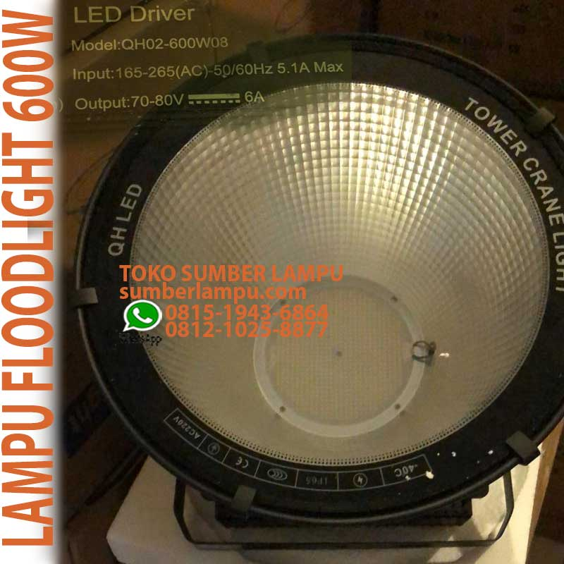 led spot floodlight 600w