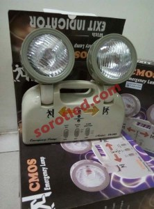 cmos lampu emergency CS262