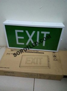 Boxster Emergency EXIT LED Sign