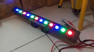 Lampu Dinding Wall Washer LED RGB 18watt