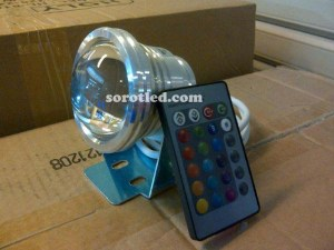 Lampu Kolam LED RGB Plus Remote
