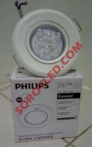 Lampu Downlight Philips LED Essensial Spot