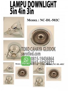 lampu downlight e27