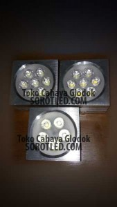 Lampu Downlight LED Plafon Model Outbow 7watt 5watt