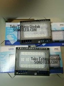 Lampu Tembak LED 50watt Slim Body