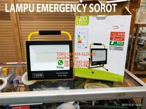 lampu floodlight emergency 120w