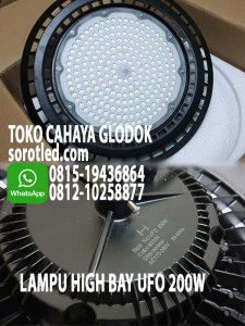 lampu high bay ufo 200w