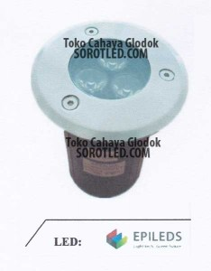 Lampu Lantai LED 3x1watt Chip EPILEDS
