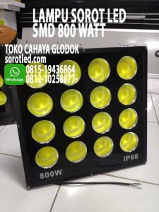 lampu led floodlight 800w
