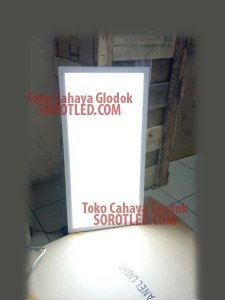 Lampu LED Panel 60cm*30cm 24watt Model Kotak