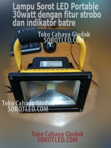 Lampu Sorot Portable 30watt IP65