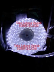 Lampu LED Strip IP68 Chip 5050 Pure White