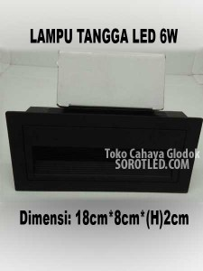 Lampu Tangga LED Model Kotak 6w
