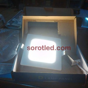 Lampu LED panel downlight
